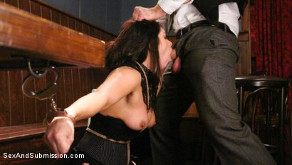 Photo number 6 from WINNER TAKES ALL shot for Sex And Submission on Kink.com. Featuring Lea Lexis and Bill Bailey in hardcore BDSM & Fetish porn.
