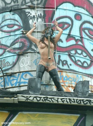 Photo number 7 from WIREDPUSSY IN NEW YORK<br>Part 1<br>Wiredpussy presents a series of public shoots shot in NYC shot for Wired Pussy on Kink.com. Featuring Nadia Styles, Mistress Hidest and Princess Donna Dolore in hardcore BDSM & Fetish porn.