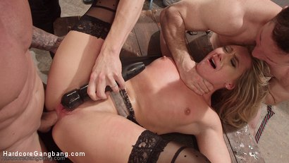 Photo number 20 from Almighty Rebel Cunt! A Double-Stuffed Bank Heist Take Down!!! shot for Hardcore Gangbang on Kink.com. Featuring Owen Gray, Gage Sin, AJ Applegate, John Strong, Mr. Pete and Astral Dust in hardcore BDSM & Fetish porn.