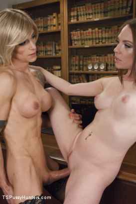 Photo number 11 from College Web Cam Model Gets Scolding from a Hot TS Dean shot for TS Pussy Hunters on Kink.com. Featuring Nina Lawless and Kassondra Raine in hardcore BDSM & Fetish porn.