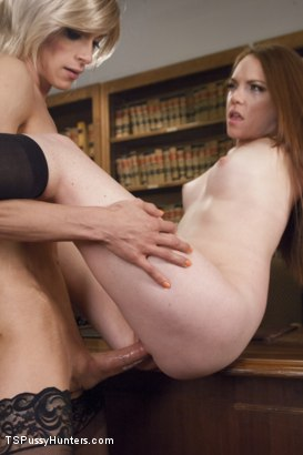 Photo number 12 from College Web Cam Model Gets Scolding from a Hot TS Dean shot for TS Pussy Hunters on Kink.com. Featuring Nina Lawless and Kassondra Raine in hardcore BDSM & Fetish porn.