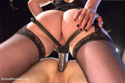 Photo number 10 from Honeymoon Humiliation: Wife Cuckolds New Hubby Into Better Sex shot for Divine Bitches on Kink.com. Featuring Connor Maguire, Mona Wales and Patrick Knight in hardcore BDSM & Fetish porn.