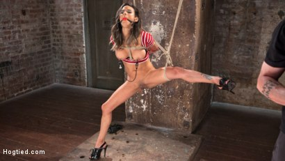 Photo number 4 from Nadia Styles has an Appetite for Suffering  shot for Hogtied on Kink.com. Featuring Nadia Styles in hardcore BDSM & Fetish porn.