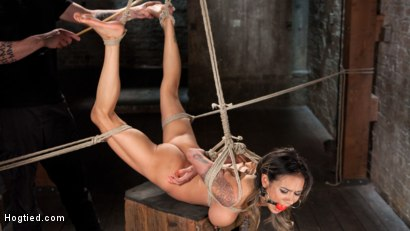 Photo number 11 from Nadia Styles has an Appetite for Suffering  shot for Hogtied on Kink.com. Featuring Nadia Styles in hardcore BDSM & Fetish porn.