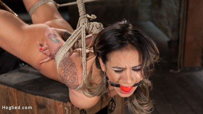Photo number 13 from Nadia Styles has an Appetite for Suffering  shot for Hogtied on Kink.com. Featuring Nadia Styles in hardcore BDSM & Fetish porn.