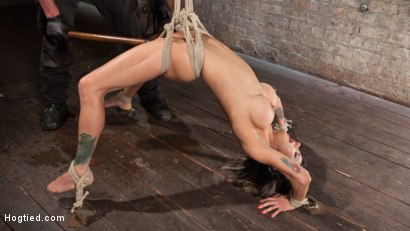 Photo number 6 from Nadia Styles has an Appetite for Suffering  shot for Hogtied on Kink.com. Featuring Nadia Styles in hardcore BDSM & Fetish porn.