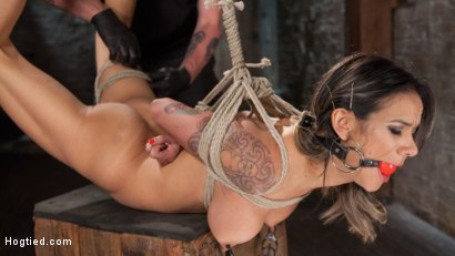 Photo number 9 from Nadia Styles has an Appetite for Suffering  shot for Hogtied on Kink.com. Featuring Nadia Styles in hardcore BDSM & Fetish porn.