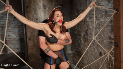 Photo number 2 from Chanel Preston Returns to Hogtied!! shot for Hogtied on Kink.com. Featuring Chanel Preston and The Pope in hardcore BDSM & Fetish porn.