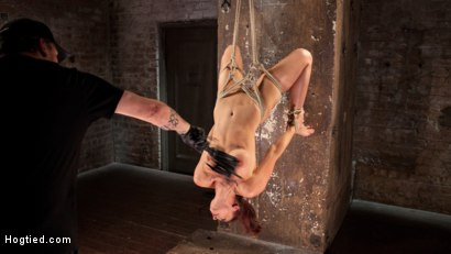 Photo number 9 from Chanel Preston Returns to Hogtied!! shot for Hogtied on Kink.com. Featuring Chanel Preston and The Pope in hardcore BDSM & Fetish porn.