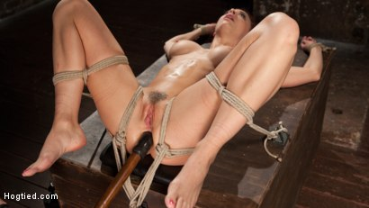 Photo number 11 from Chanel Preston Returns to Hogtied!! shot for Hogtied on Kink.com. Featuring Chanel Preston and The Pope in hardcore BDSM & Fetish porn.