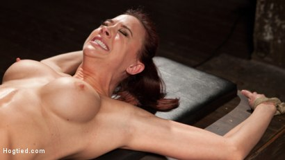 Photo number 13 from Chanel Preston Returns to Hogtied!! shot for Hogtied on Kink.com. Featuring Chanel Preston and The Pope in hardcore BDSM & Fetish porn.