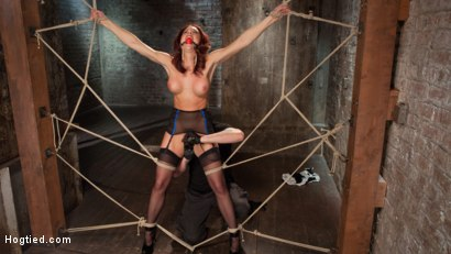 Photo number 3 from Chanel Preston Returns to Hogtied!! shot for Hogtied on Kink.com. Featuring Chanel Preston and The Pope in hardcore BDSM & Fetish porn.