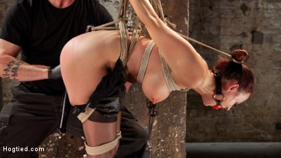 Photo number 6 from Chanel Preston Returns to Hogtied!! shot for Hogtied on Kink.com. Featuring Chanel Preston and The Pope in hardcore BDSM & Fetish porn.