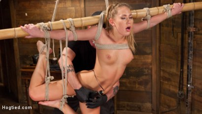 Transformed into a fetish bondage slut