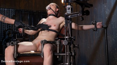 Photo number 4 from Into the Darkness shot for Device Bondage on Kink.com. Featuring Casey Calvert  and The Pope in hardcore BDSM & Fetish porn.