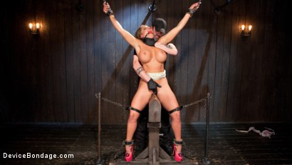 Photo number 1 from Slut Begs to Cum in Bondage! shot for Device Bondage on Kink.com. Featuring Richelle Ryan in hardcore BDSM & Fetish porn.