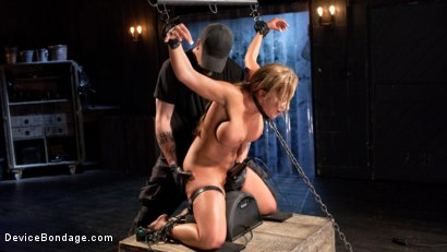 Photo number 11 from Slut Begs to Cum in Bondage! shot for Device Bondage on Kink.com. Featuring Richelle Ryan in hardcore BDSM & Fetish porn.