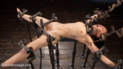 Photo number 7 from Intolerable Brat. shot for Device Bondage on Kink.com. Featuring Gabriella Paltrova and The Pope in hardcore BDSM & Fetish porn.