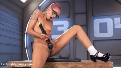 Photo number 15 from Skin Diamond Squirts in Bondage!! shot for Fucking Machines on Kink.com. Featuring Skin Diamond in hardcore BDSM & Fetish porn.