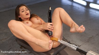 Photo number 9 from Mega Babe Dani Daniels Can't Get Enough!!! shot for Fucking Machines on Kink.com. Featuring Dani Daniels in hardcore BDSM & Fetish porn.