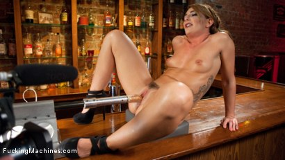 Photo number 1 from Big Booty Squirter Soaks the Speakeasy! shot for Fucking Machines on Kink.com. Featuring Savannah Fox in hardcore BDSM & Fetish porn.