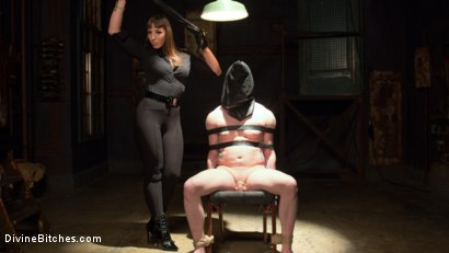 Photo number 13 from Her Muscles, Her Pleasure shot for Divine Bitches on Kink.com. Featuring Mistress Kara and Mike Panic in hardcore BDSM & Fetish porn.