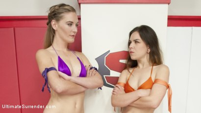 Photo number 15 from Season 12 Feather Weight Wrestling Championship shot for Ultimate Surrender on Kink.com. Featuring Juliette March, Mona Wales and Syd Blakovich in hardcore BDSM & Fetish porn.