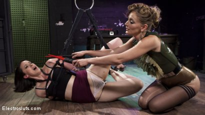 Photo number 6 from Pain Slut Pushed to Limits by Electro Latex Dominatrix shot for Electro Sluts on Kink.com. Featuring Mona Wales and Pink in hardcore BDSM & Fetish porn.