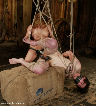 Photo number 5 from Sativa Rose and Dorian shot for Men In Pain on Kink.com. Featuring Dorian and Sativa Rose in hardcore BDSM & Fetish porn.