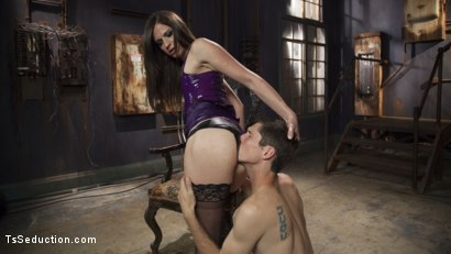 Photo number 3 from Her Rock Hard Dominate Cock and Exquisite Toes! shot for TS Seduction on Kink.com. Featuring Tony Orlando and Michelle Firestone in hardcore BDSM & Fetish porn.