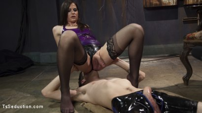Photo number 4 from Her Rock Hard Dominate Cock and Exquisite Toes! shot for TS Seduction on Kink.com. Featuring Tony Orlando and Michelle Firestone in hardcore BDSM & Fetish porn.