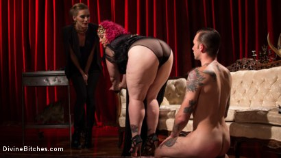 Photo number 13 from Baby Wants To Fuck!!! AVN BBW of the year April Flores!!! shot for Divine Bitches on Kink.com. Featuring Mona Wales, Will Havoc and April Flores in hardcore BDSM & Fetish porn.