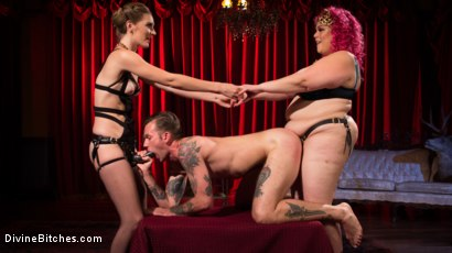 Photo number 9 from Baby Wants To Fuck!!! AVN BBW of the year April Flores!!! shot for Divine Bitches on Kink.com. Featuring Mona Wales, Will Havoc and April Flores in hardcore BDSM & Fetish porn.