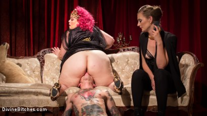 Photo number 11 from Baby Wants To Fuck!!! AVN BBW of the year April Flores!!! shot for Divine Bitches on Kink.com. Featuring Mona Wales, Will Havoc and April Flores in hardcore BDSM & Fetish porn.
