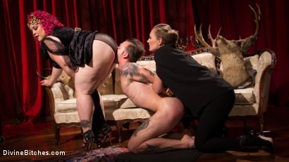 Photo number 3 from Baby Wants To Fuck!!! AVN BBW of the year April Flores!!! shot for Divine Bitches on Kink.com. Featuring Mona Wales, Will Havoc and April Flores in hardcore BDSM & Fetish porn.