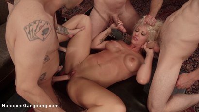 Photo number 2 from All In: Holly Heart gets TRIPLE PENETRATED by HUGE fat cocks! shot for Hardcore Gangbang on Kink.com. Featuring Holly Heart, John Strong, Bill Bailey, Owen Gray, Tommy Pistol and Gage Sin in hardcore BDSM & Fetish porn.