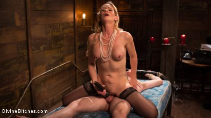 Photo number 10 from Mrs. S. is Evil As Pie shot for Divine Bitches on Kink.com. Featuring Damien Moreau and Simone Sonay in hardcore BDSM & Fetish porn.
