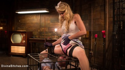 Photo number 12 from Mrs. S. is Evil As Pie shot for Divine Bitches on Kink.com. Featuring Damien Moreau and Simone Sonay in hardcore BDSM & Fetish porn.