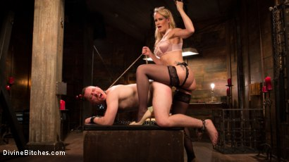 Photo number 8 from Mrs. S. is Evil As Pie shot for Divine Bitches on Kink.com. Featuring Damien Moreau and Simone Sonay in hardcore BDSM & Fetish porn.