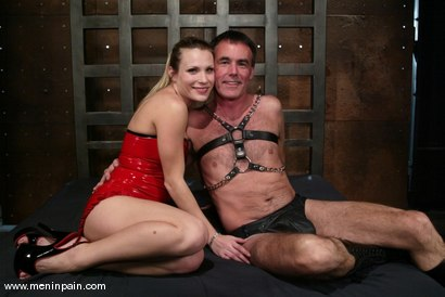 Photo number 1 from Wild Bill and Harmony shot for Men In Pain on Kink.com. Featuring Harmony and Wild Bill in hardcore BDSM & Fetish porn.
