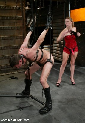 Photo number 7 from Wild Bill and Harmony shot for Men In Pain on Kink.com. Featuring Harmony and Wild Bill in hardcore BDSM & Fetish porn.