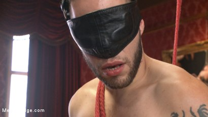 Photo number 5 from Wolf Hudson's giant uncut cock gets tied up and relentlessly edged shot for Men On Edge on Kink.com. Featuring Wolf Hudson in hardcore BDSM & Fetish porn.