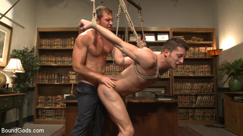 Gay jock bondage boys need their dicks 6