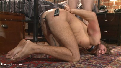 Photo number 10 from Brotherly Love shot for Bound Gods on Kink.com. Featuring Wolf Hudson and Brendan Patrick in hardcore BDSM & Fetish porn.