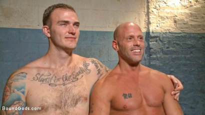 Photo number 15 from Christian Wilde's Latex Meat Locker shot for Bound Gods on Kink.com. Featuring Christian Wilde and Coby Mitchell in hardcore BDSM & Fetish porn.