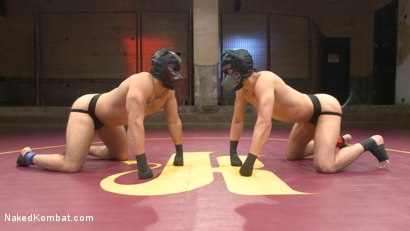Photo number 1 from Brock Avery vs. Tyler Rush - The Dog Fight shot for Naked Kombat on Kink.com. Featuring Tyler Rush and Brock Avery in hardcore BDSM & Fetish porn.