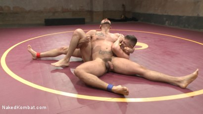 Photo number 9 from Brock Avery vs. Tyler Rush - The Dog Fight shot for Naked Kombat on Kink.com. Featuring Tyler Rush and Brock Avery in hardcore BDSM & Fetish porn.