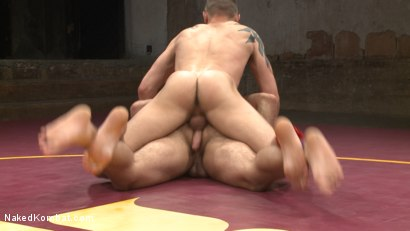 Photo number 7 from Brock Avery vs. Tyler Rush - The Dog Fight shot for Naked Kombat on Kink.com. Featuring Tyler Rush and Brock Avery in hardcore BDSM & Fetish porn.