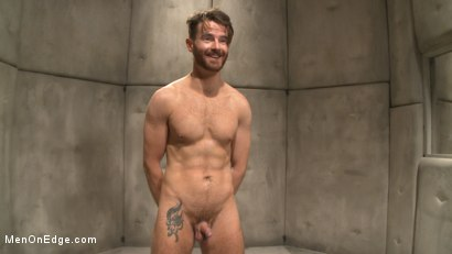 Photo number 15 from Horny mental patient hallucinates a dual edging shot for Men On Edge on Kink.com. Featuring Brendan Patrick in hardcore BDSM & Fetish porn.