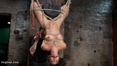 Photo number 9 from Dani Daniels in Brutal Bondage, Tormented, and Made to Cum Uncontrollably. shot for Hogtied on Kink.com. Featuring Dani Daniels and The Pope in hardcore BDSM & Fetish porn.